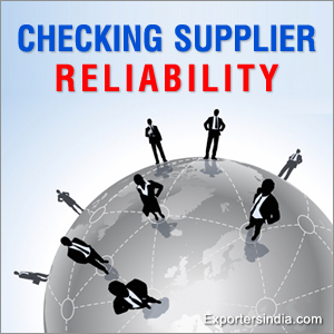 Checking Supplier Reliability