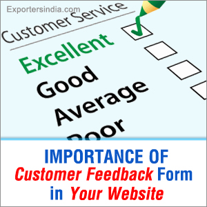 Importance of Customer Feedback Form in Your Website