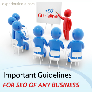 Important Guidelines For SEO Of Any Business