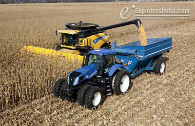 Farm Power Driven 90% by Machines, 5% by Humans and 5% by Draught Animals
