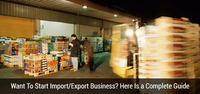 Starting Import Export Business