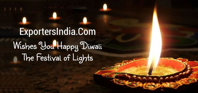 ExportersIndia Wishes You a Very Happy Diwali - The Festival of Lights