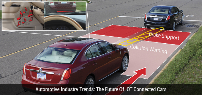 Automotive Industry Trends: The Future Of IOT Connected Cars