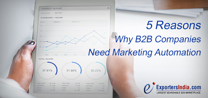 5 Reasons Why B2B Companies Need Marketing Automation