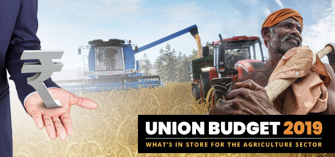 Union Budget 2019: What's In Store For The Agriculture Sector