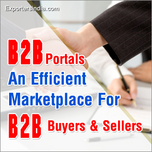 B2B Portals An Efficient Marketplace For B2B Buyers & Sellers