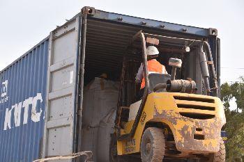 Stuffingand Loading at Plant