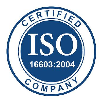 ISO 16603:2004 Certificate