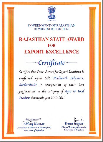 Export Excellence 2010-2011