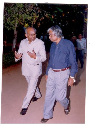 Dr. A.P.J. Kalam and Dr. K.V.C. Rao