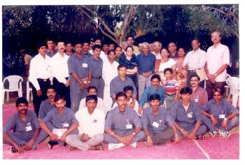 Group photo during Dr. Kalam`s visit