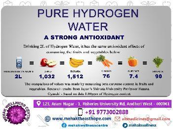 2 Litres H2O