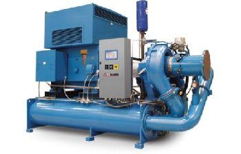 Erection of Air Compressor