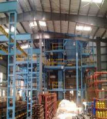 Fully Automatic Sand plant with 30 MThour Sand Handling system