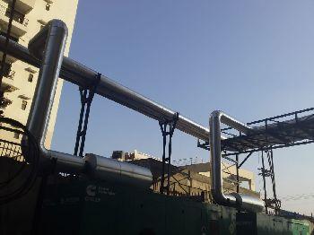 Exhaust Pipe of DG Set