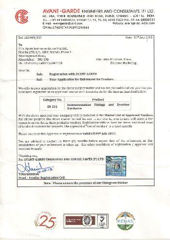 Certification AVNT-GARDE