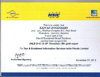 D&B Certificate