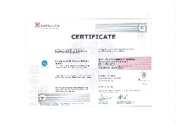ISO 13485:2016 Certificate 02