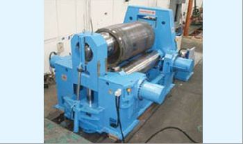 Variable Axes Plate Rolling Machine 50mm x 1000 mm