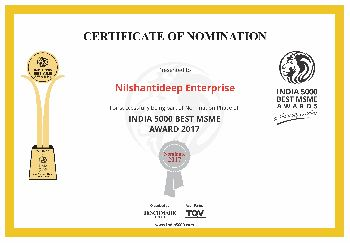 India Nomination Certificate