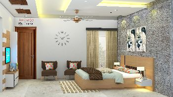 Bed Room Design (Color with Theme)
