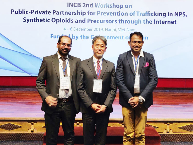 WeblinkIndia.Net attended a workshop held in Hanoi by INCB