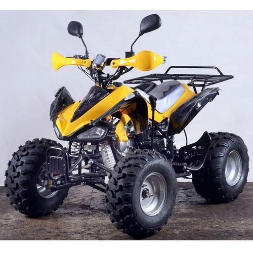 Yellow Quad Bike
