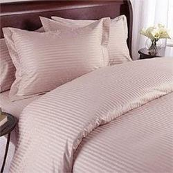 Satin White Double Bed Sheets