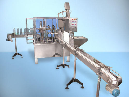 90 BPM Bottle Filling Machine
