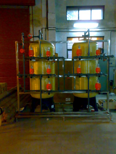 Auto FRP Two Bed DM Water Plant