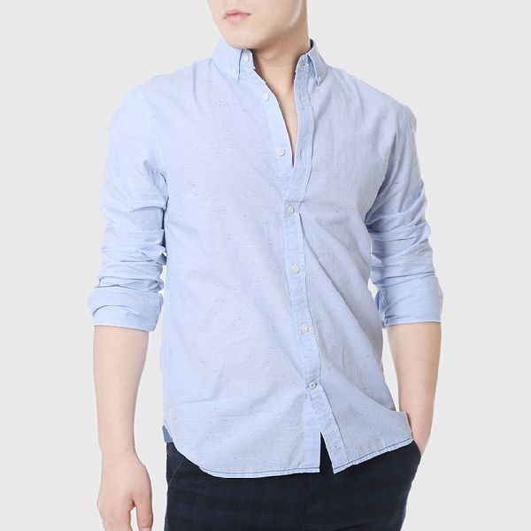 Mens Plain Linen Shirts