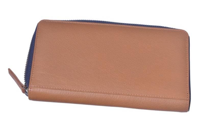 Cream Leather Ladies Wallet