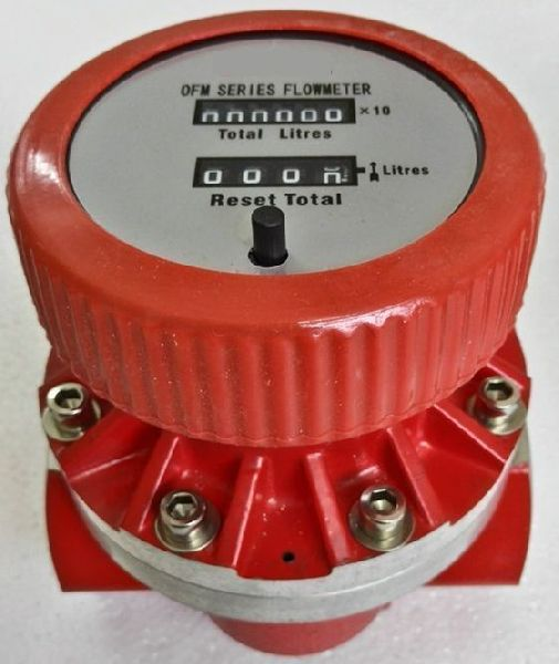 Mechanical Display Oval Gear Flow Meter