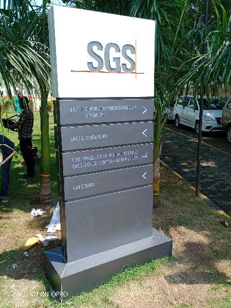 Pylon Sign Board