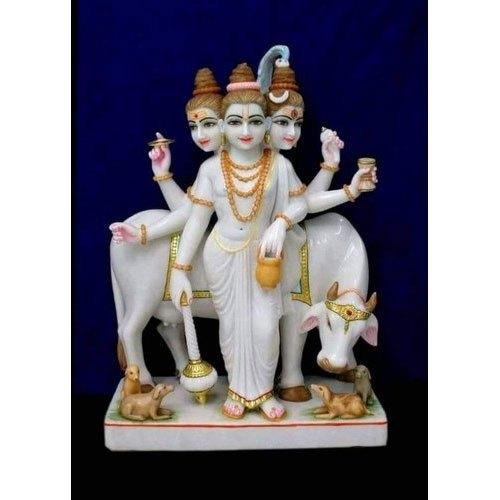 Marble Kartik Statue