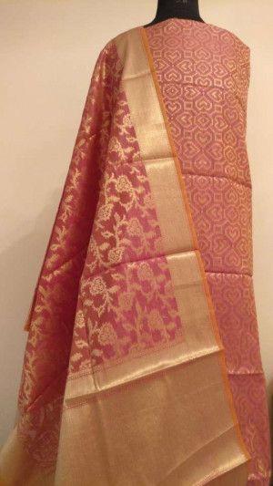 Linen Salwar Kameez Material