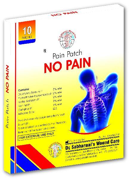 No Pain Patch