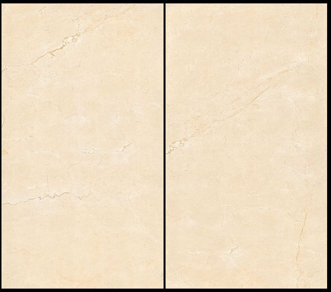 800X1600mm Crema Marfil Glossy Series Vitrified Slabs
