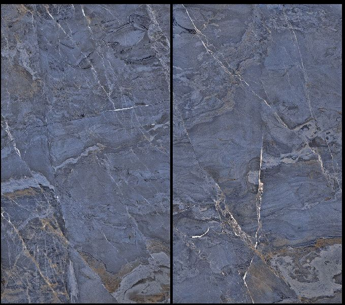 800X1600mm Fantasy Blue Glossy Series Vitrified Slabs