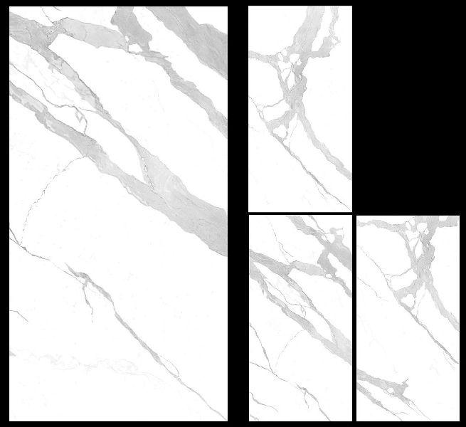 900X1800mm Bianco Statuario Venato Glossy Series Vitrified Slabs