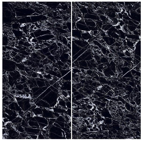 900X1800mm Black Beauty Glossy Series Vitrified Slabs