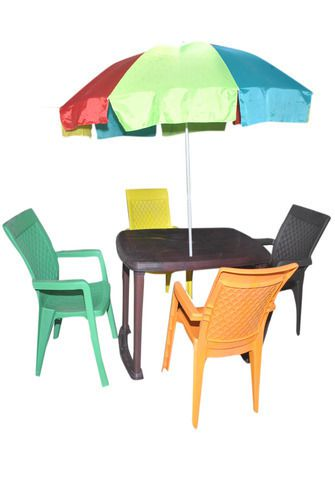 Plastic Dining Table Set