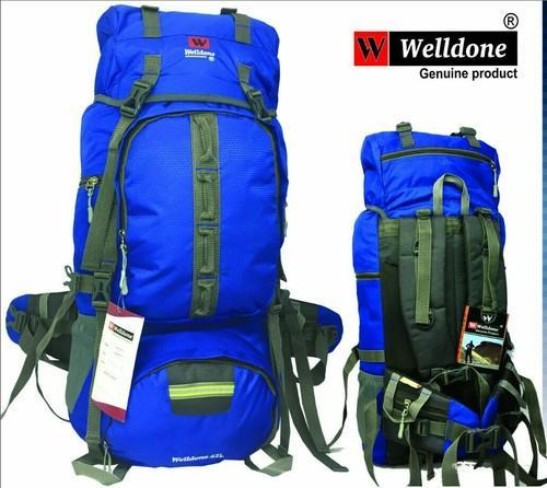 Blue Tracking Bags