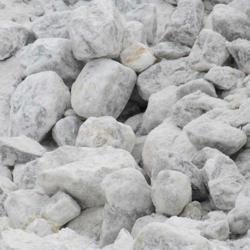 Raw Gypsum Lumps