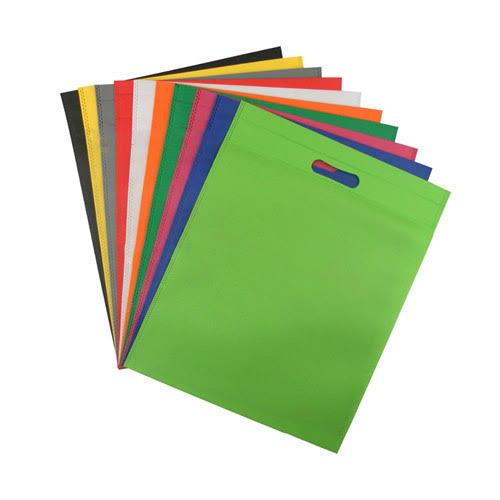 Multicolor D Cut Non Woven Bag