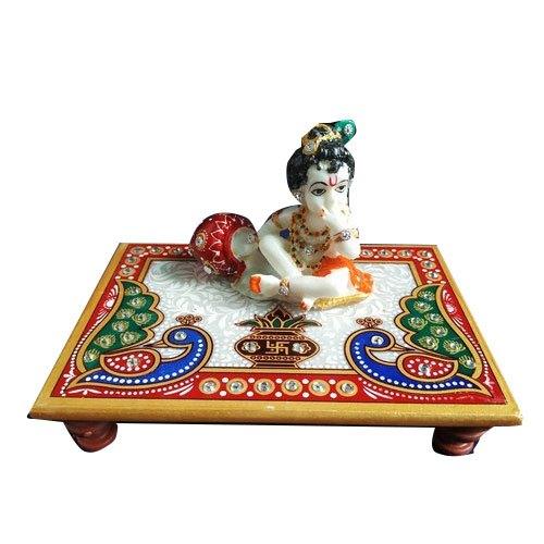 Marble Laddu Gopal Chowki