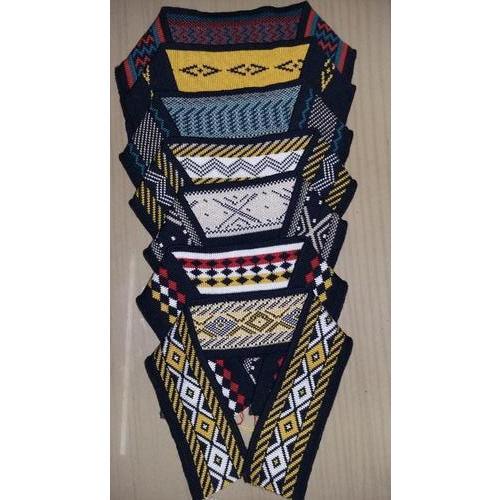 Lurex Rib Collar