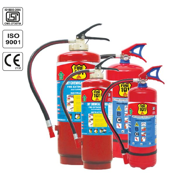 Dry Chemical Blow Up Fire Extinguisher