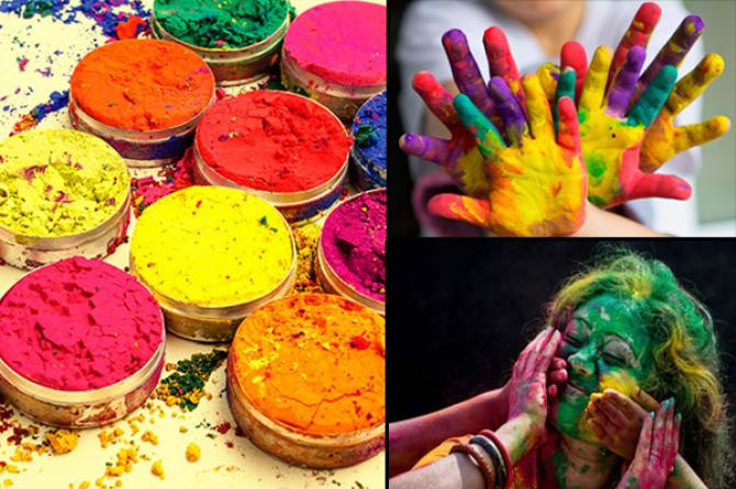 Eco Friendly Holi Color