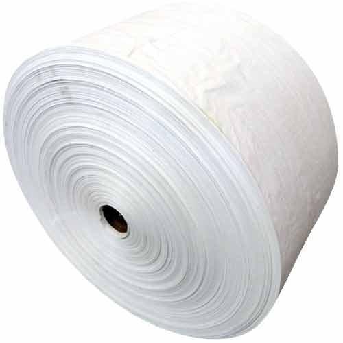 White PP Woven Sack Bag Roll